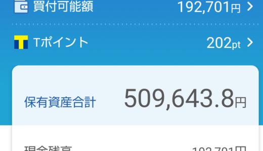 日本株ポートフォリオ(2021.9.3)総合配当割合4.22%配当金月額1,115円