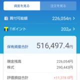 日本株ポートフォリオ(2021.9.10)総合配当割合4.14%配当金月額1,003円