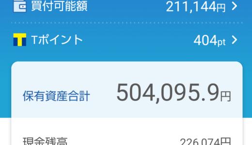 わたしの日本株ポートフォリオ(2021.10.1)総合配当割合4.14%