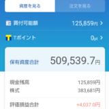 わたしの日本株ポートフォリオ(2021.10.15)総合配当割合4.24%